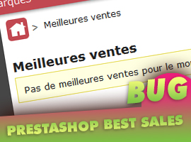 prestashop bug best sales